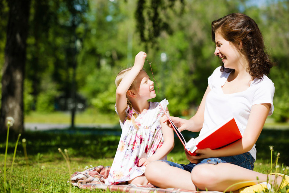 family reading helps reduce angry and defiant child behavior